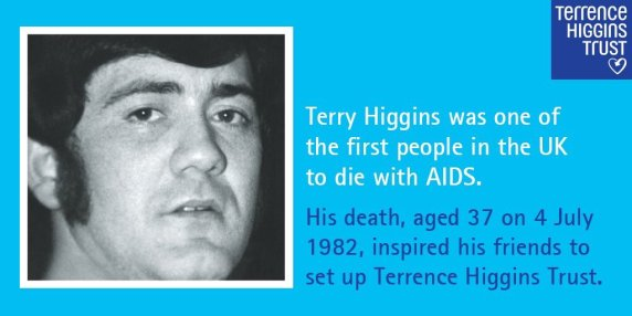 HIV Terry Higgins Trust poster